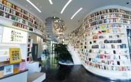 这家高颜值的办公室,建了个10米高的创意书谷