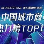 蓝石数据 | 《2021上半年中国城市商办楼盘热力榜TOP10》首发